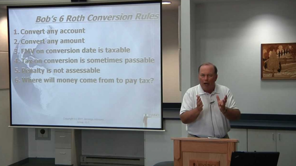 Converting to Roth IRAs